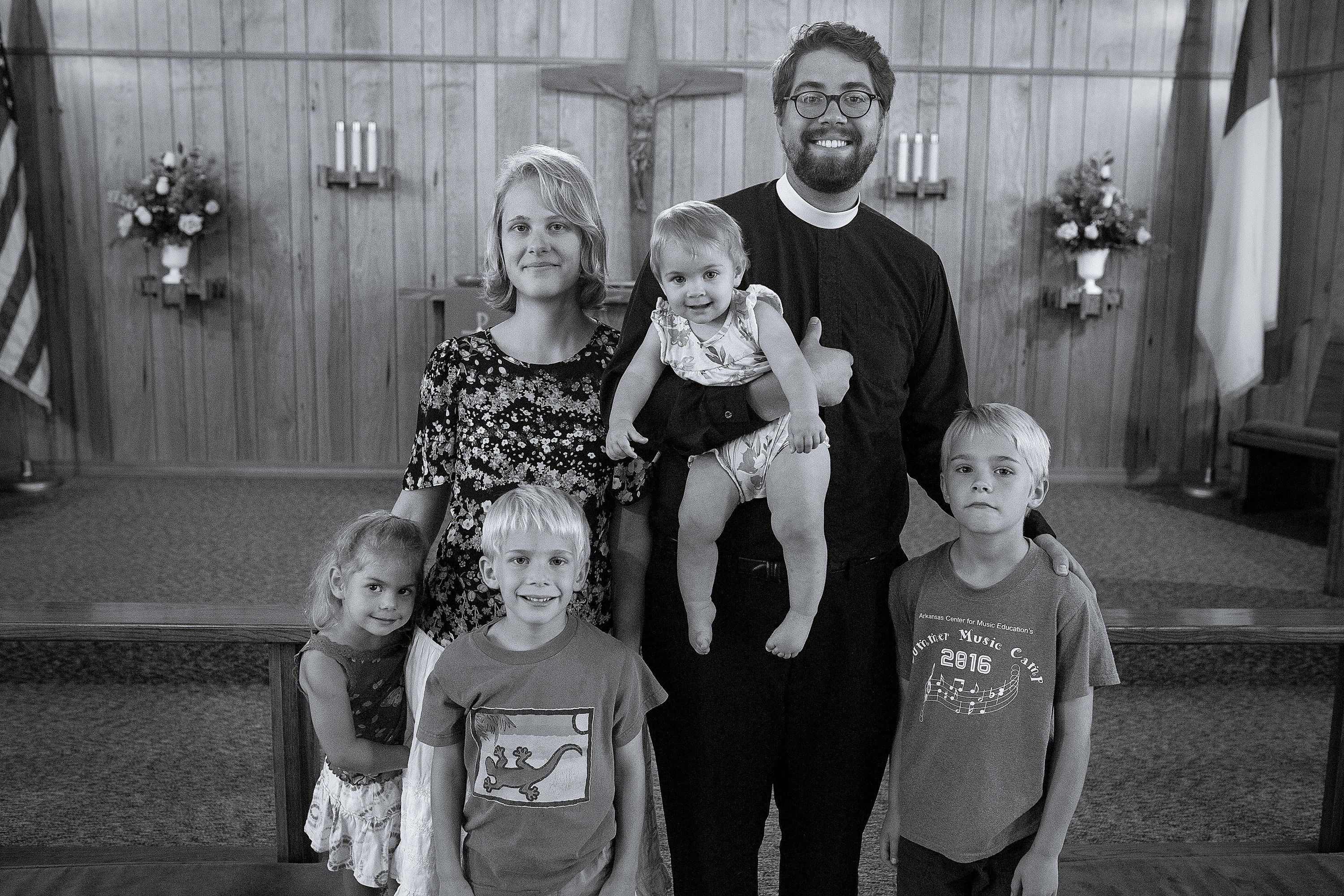 Pastor Schoaff and Family