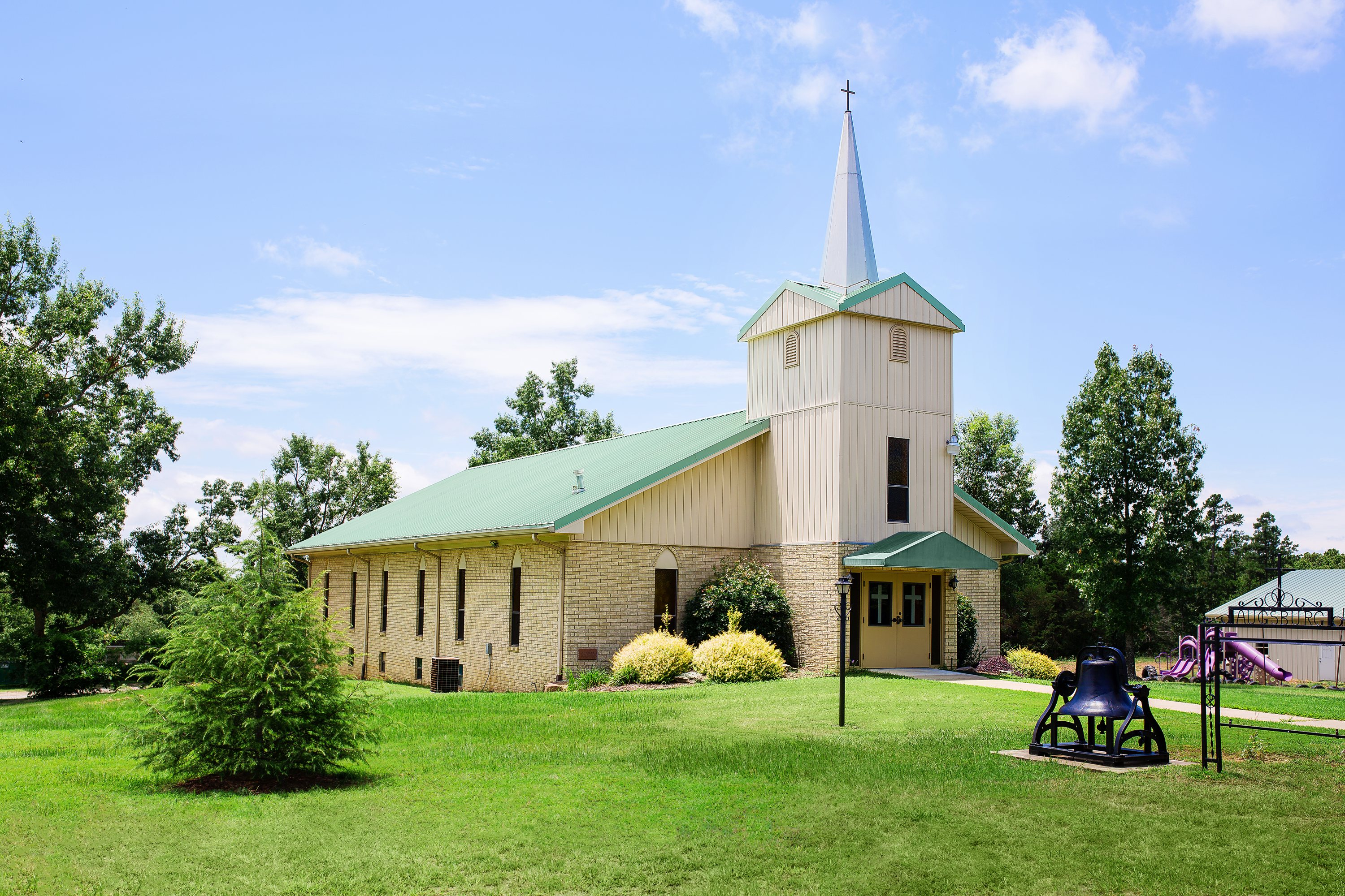 ZION LUTHERAN CHURCH AT AUGSBURG, AR